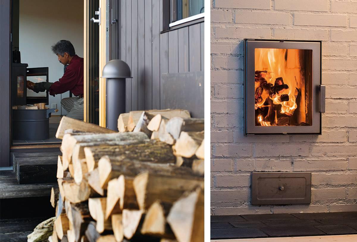 薪ストーブのある暮らしのイメージ