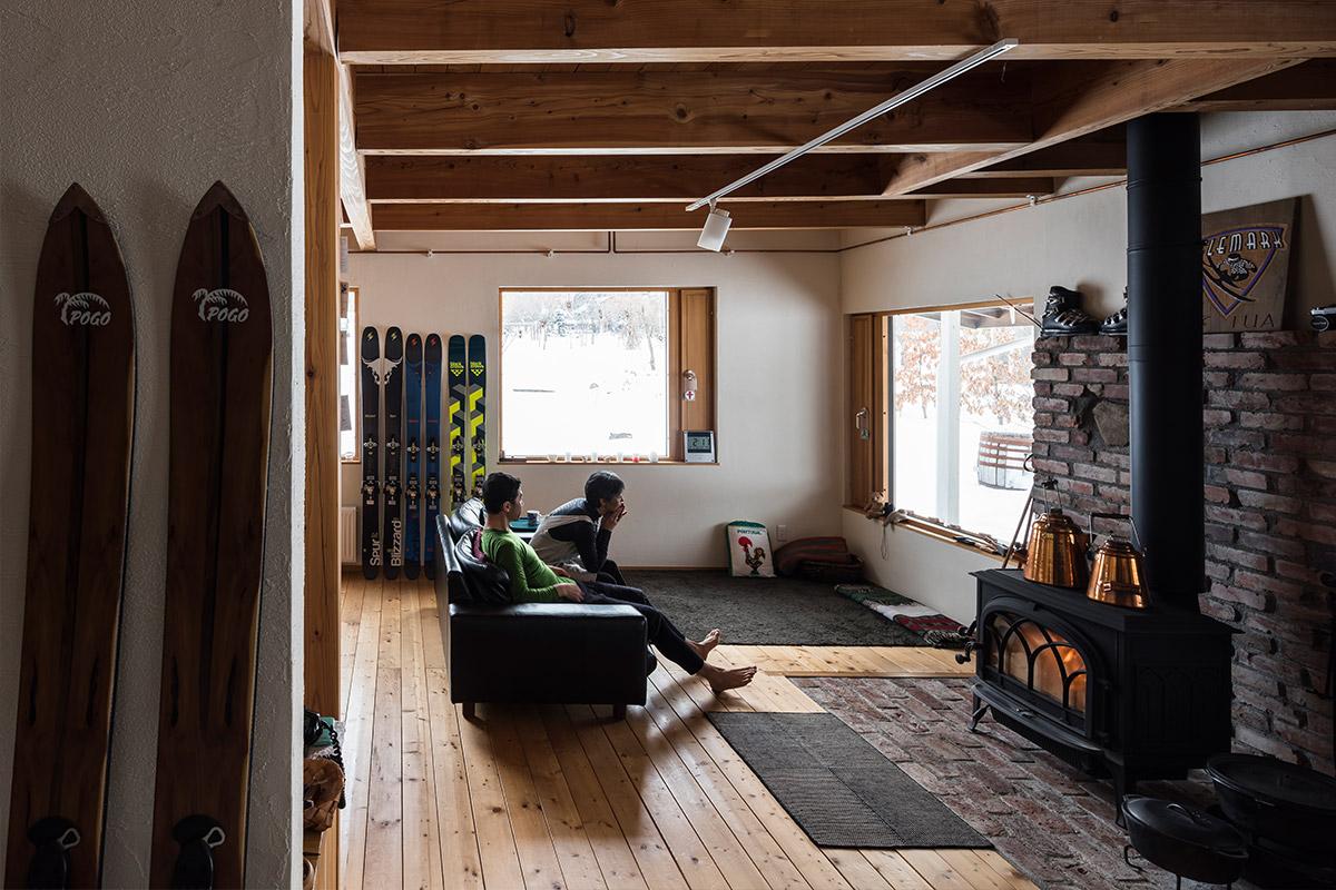 北海道の薪ストーブのある移住生活
