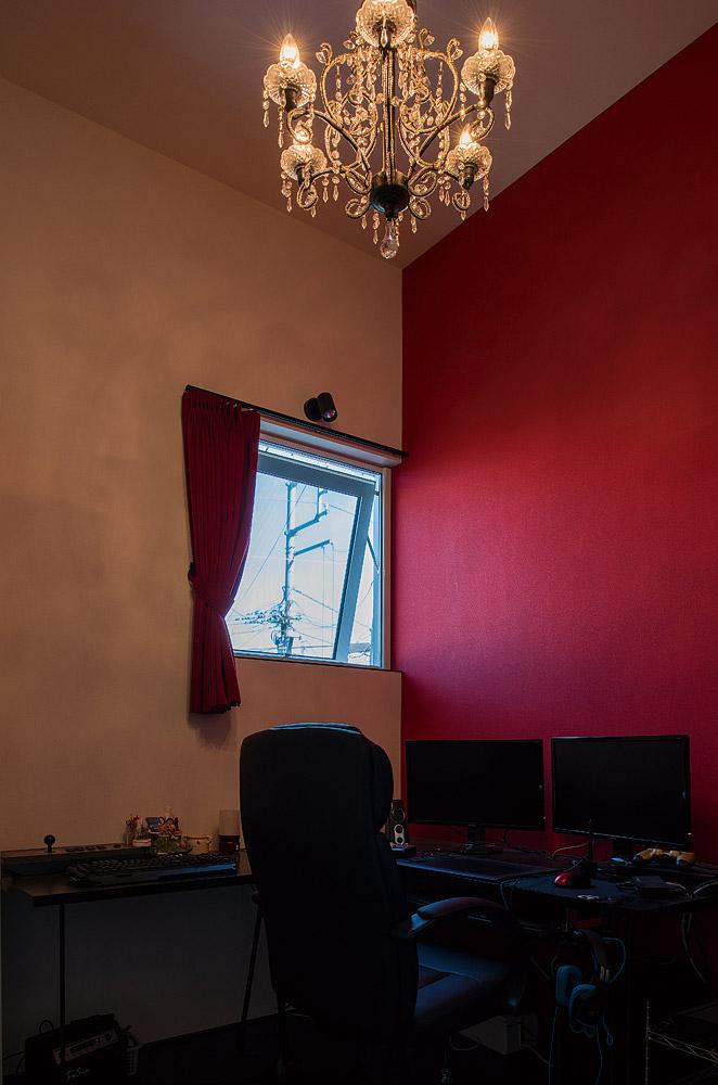 趣味を存分に反映した子ども部屋。デザインテイストの振り幅が豊かな点も、建築家の自邸ならではの醍醐味