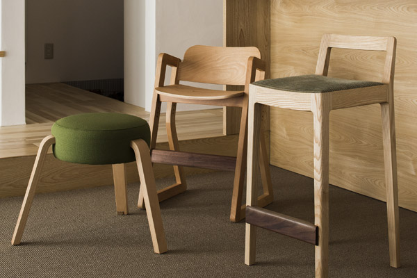 こいずみ道具店のナチュラルな椅子たち 〜R+R counter chair 他