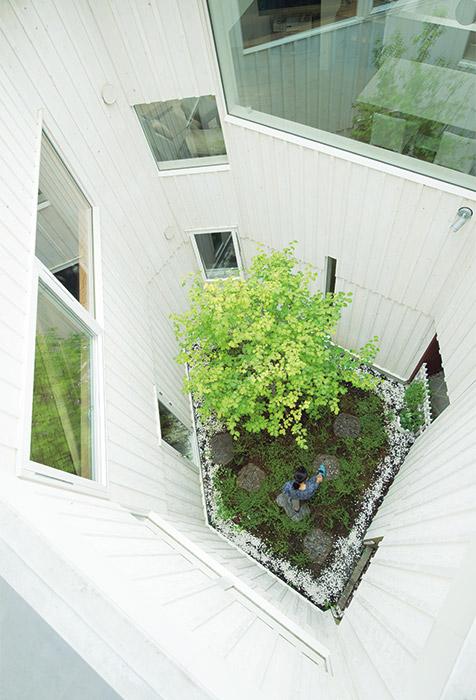 多角形の中庭