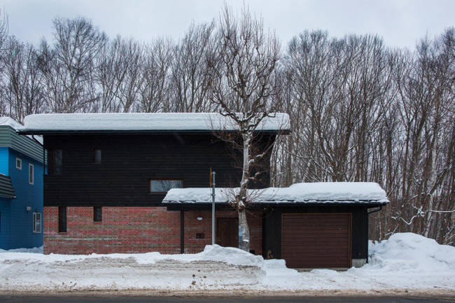 冬の陸屋根