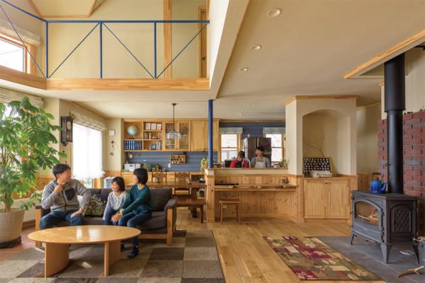 第2の故郷、帯広で実現した家族の時間を温める木の家