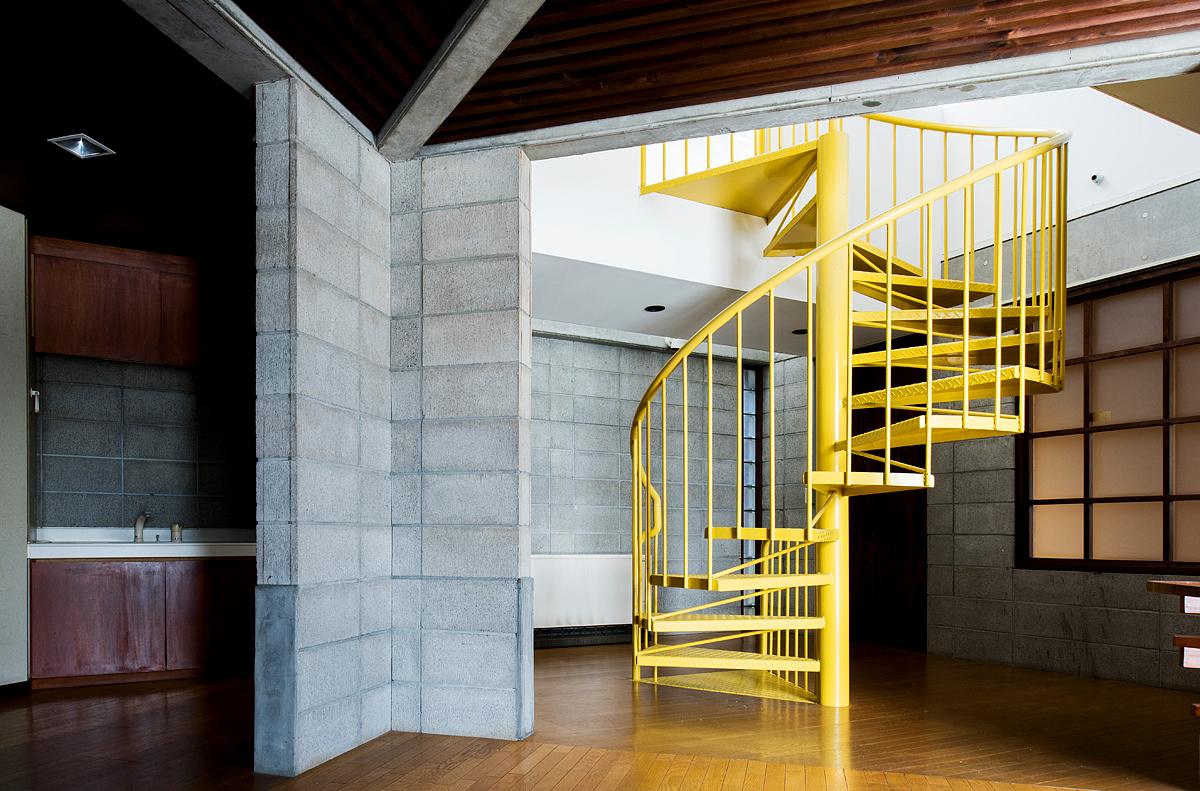 リノベーション前の『Replan House』2階