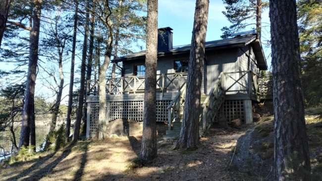 フィンランドのサウナ小屋