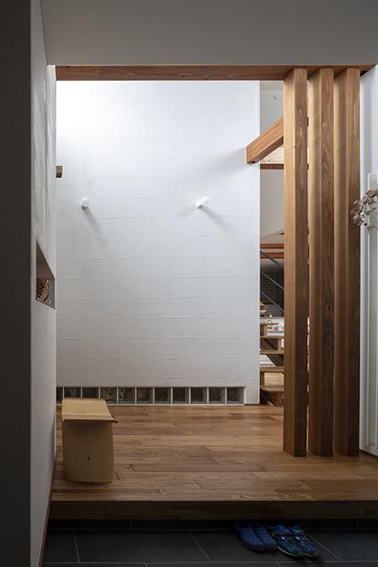 壁の塗り方は、SUDOホームのオープンハウスなどで実際に見たものの中からセレクト