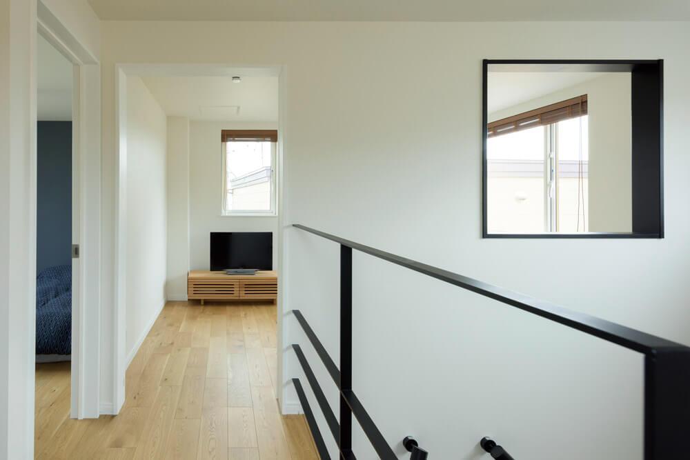3階は子ども部屋になることを想定し、床材は明るいものをセレクト
