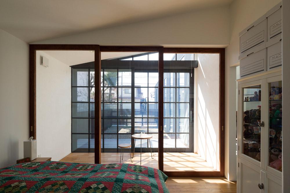 蟻塚さんの設計する家に多用されるサンルーム