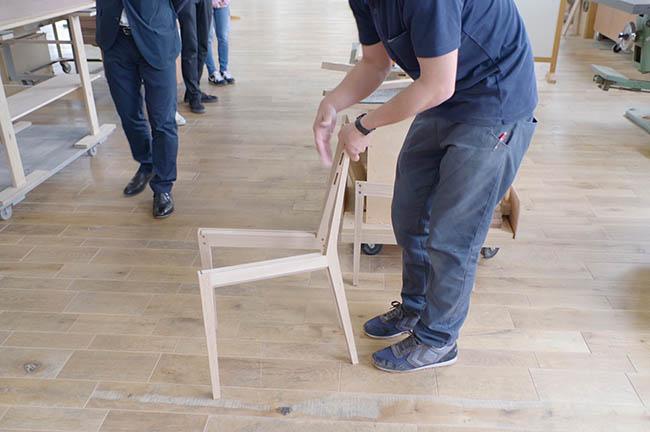 椅子の部材