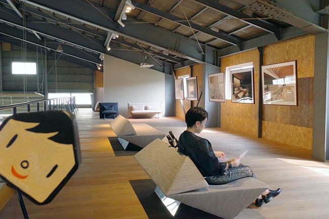 2階の展示スペース