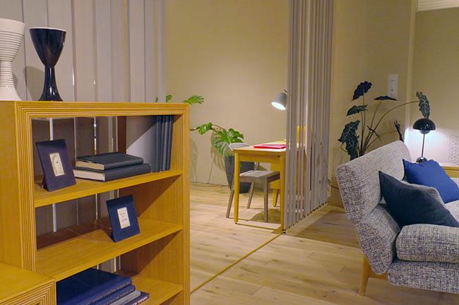 ちょっと北欧デザインちっくな家具やインテリアも