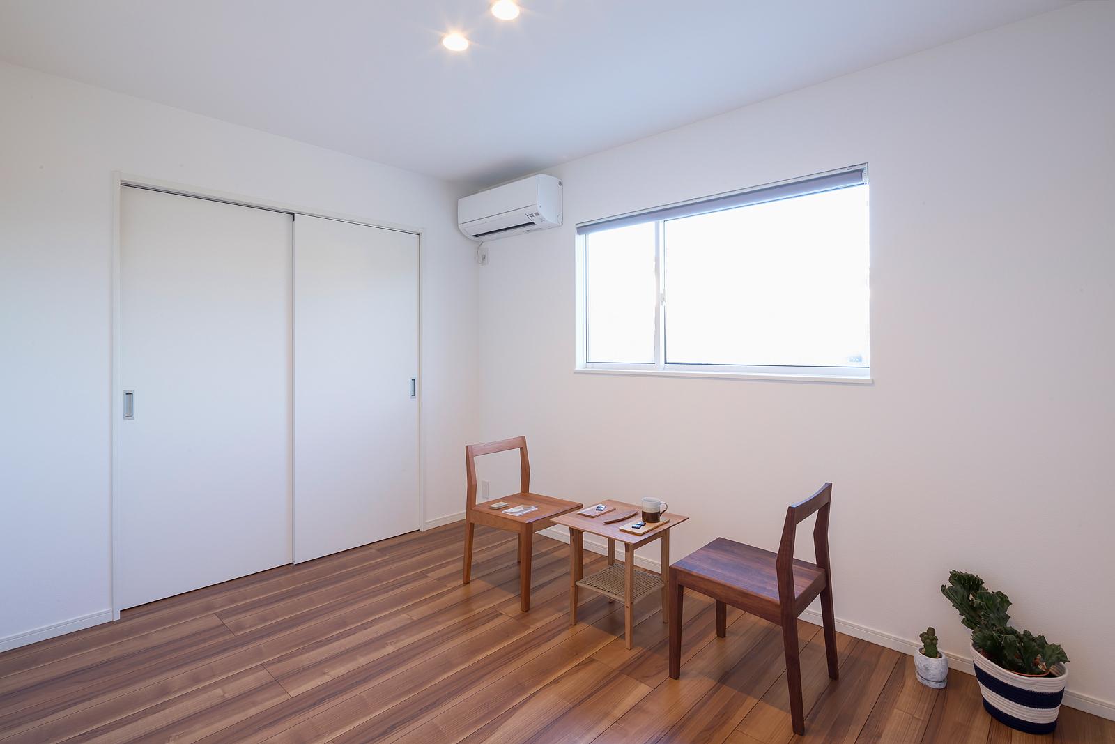 大人数で集まることが多いので、ゲストルームは2部屋を用意