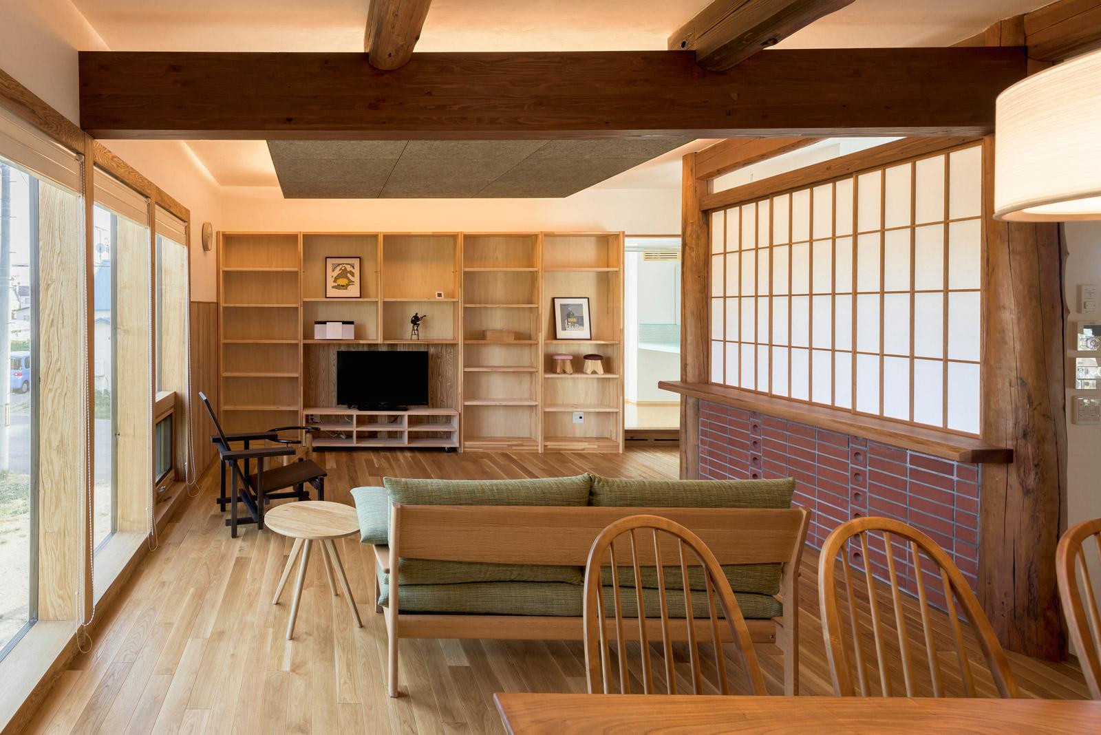 建築会社の特徴を強く打ち出したコンセプトモデルハウスの例。宿泊体験ができることも