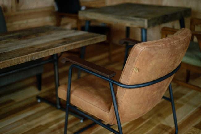 こだわりでセレクトされた椅子