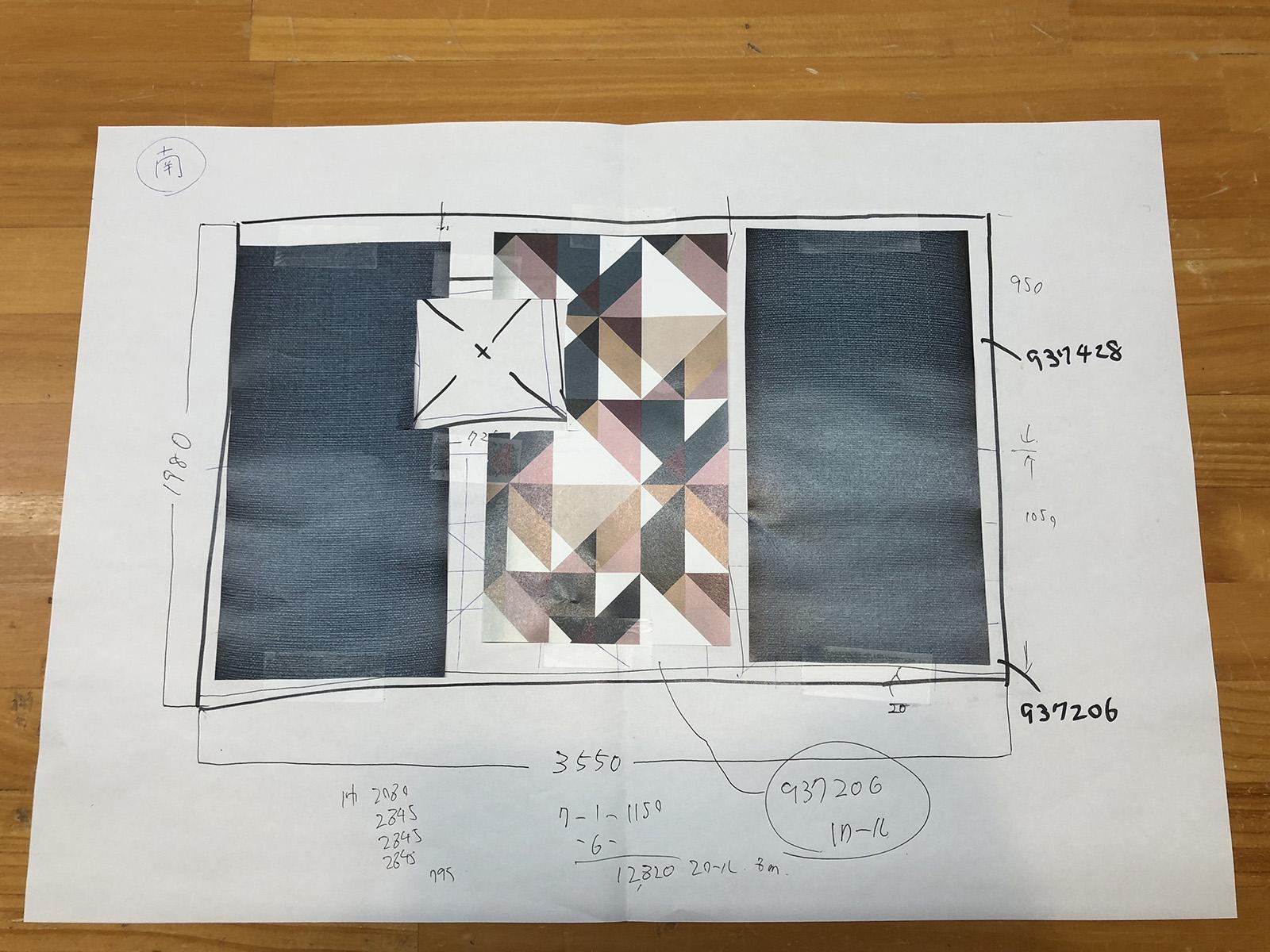 素人が作成したプラン図は大目に見てください (笑)