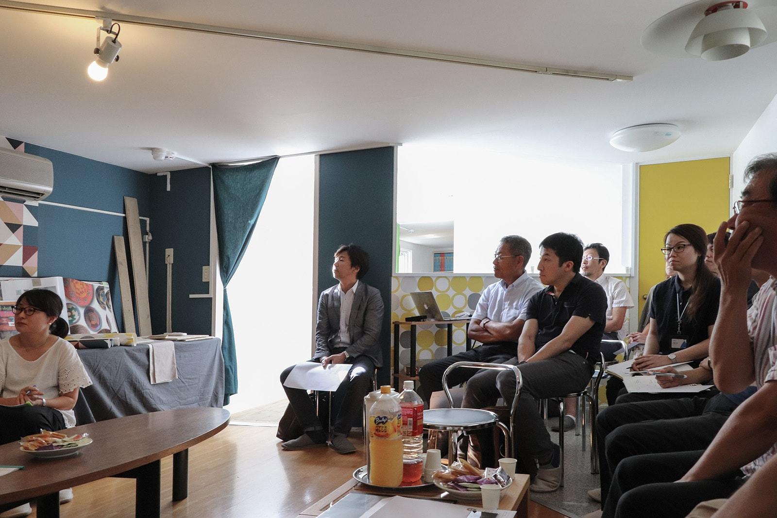 建築関係者たちとの有意義な意見交換の場にもなったトークセッション