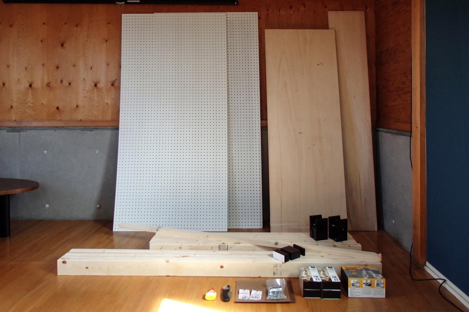 DIYプロジェクトで購入した材料