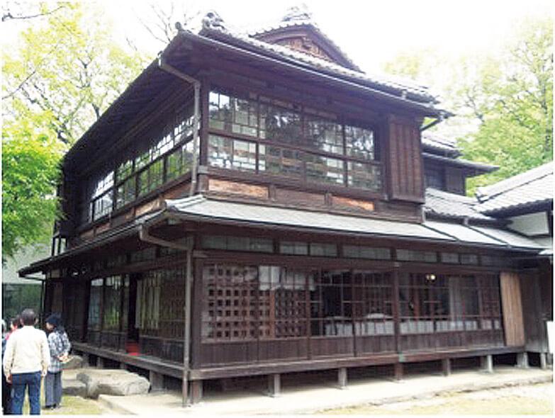 図2 最初期のガラス建築(江戸東京たてもの園 三井八郎右衛門邸)