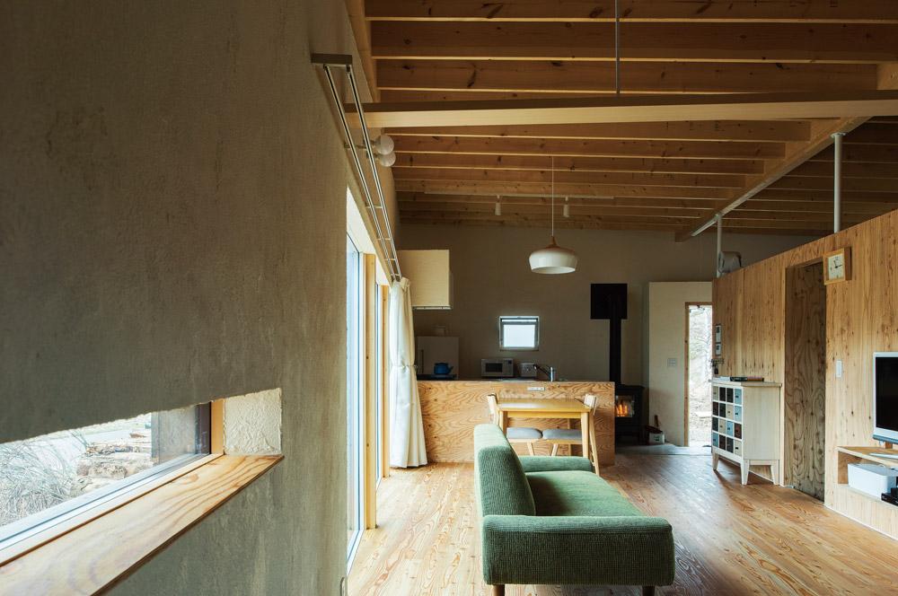 「外箱」と「内箱」の間に生まれた余白をつかった無駄のない空間デザイン