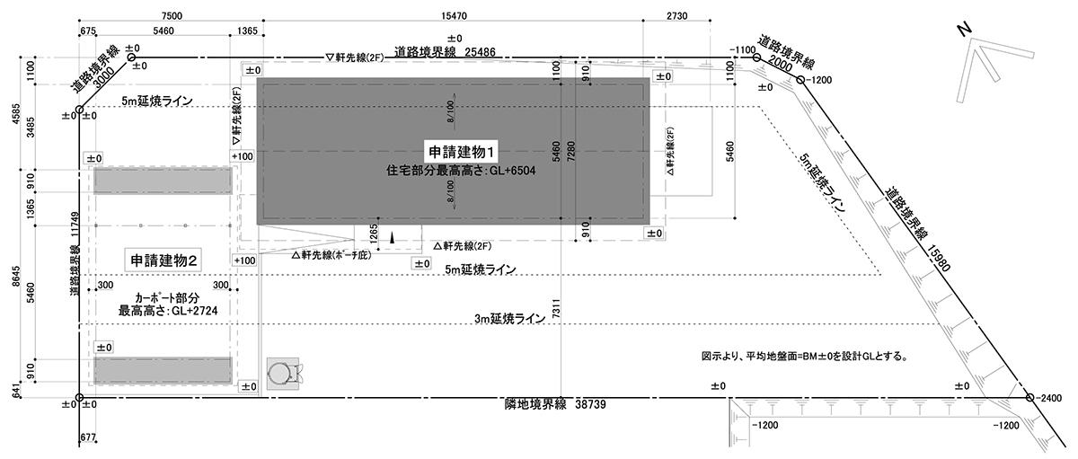 図-1 配置図