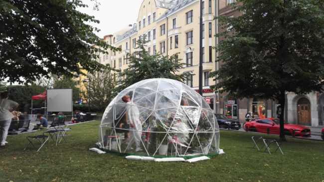 透明なドーム