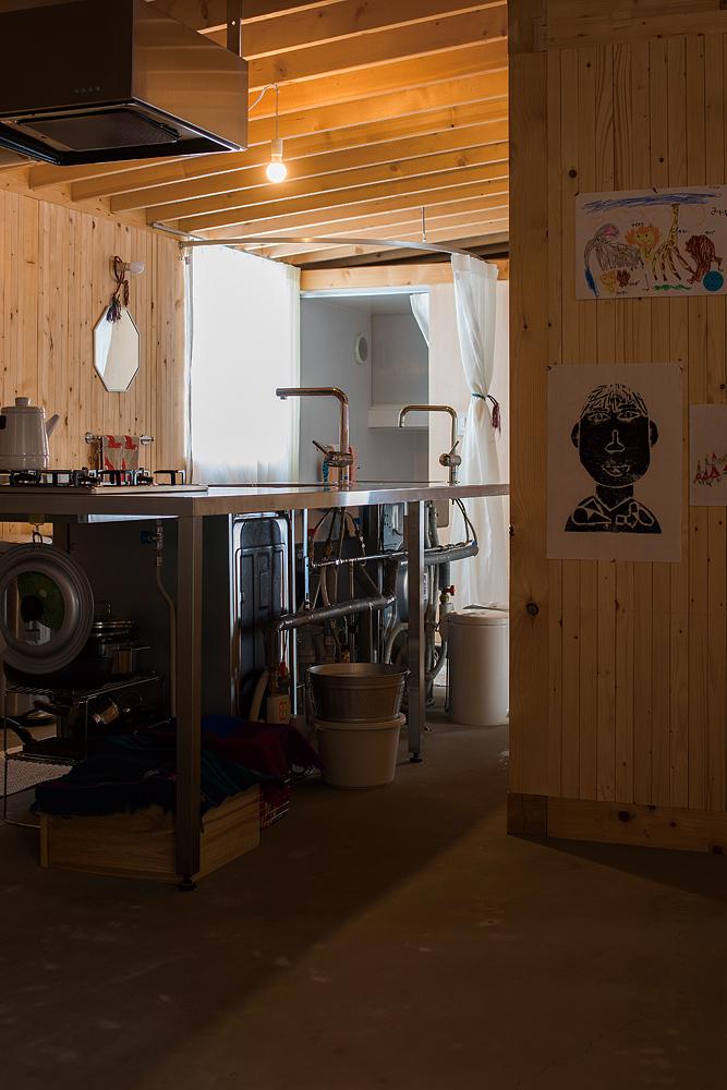 家事効率はもちろんデザイン性も高いキッチン