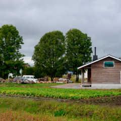 家族の幸せをカタチにした、四季の移ろいを楽しむ田園の平屋