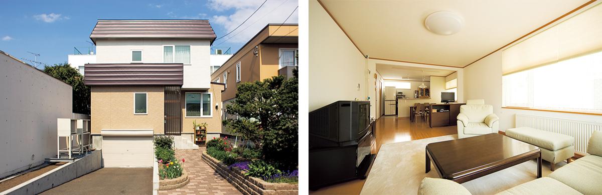 リノベーションした住宅