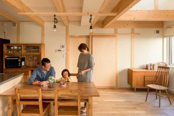 自然素材の心地よさと高い住宅性能。 2つの希望を、理想の形にしてくれました