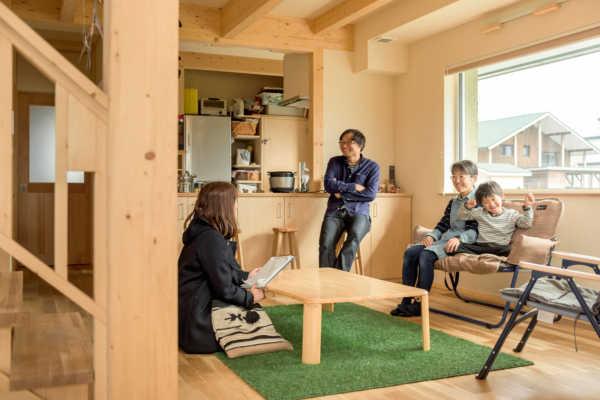 暮らし方を考え尽くしたプランニングが生んだ、楽しさいっぱいのZEH住宅