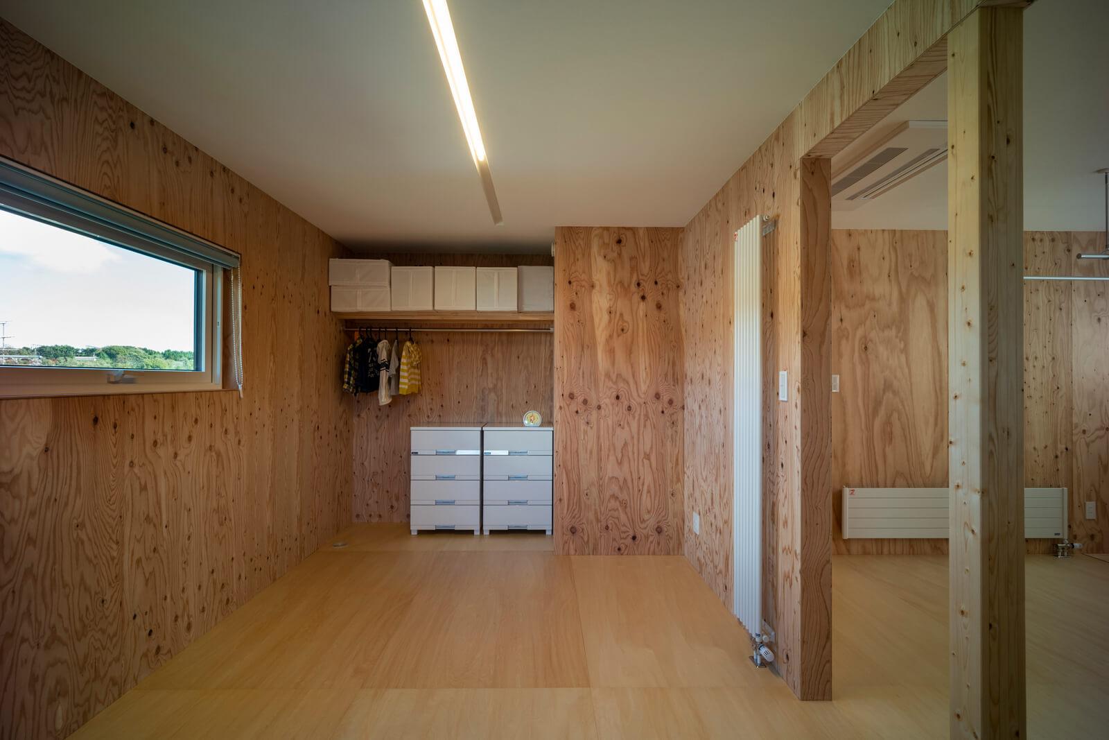 子ども部屋は2室に仕切って使用することも可能