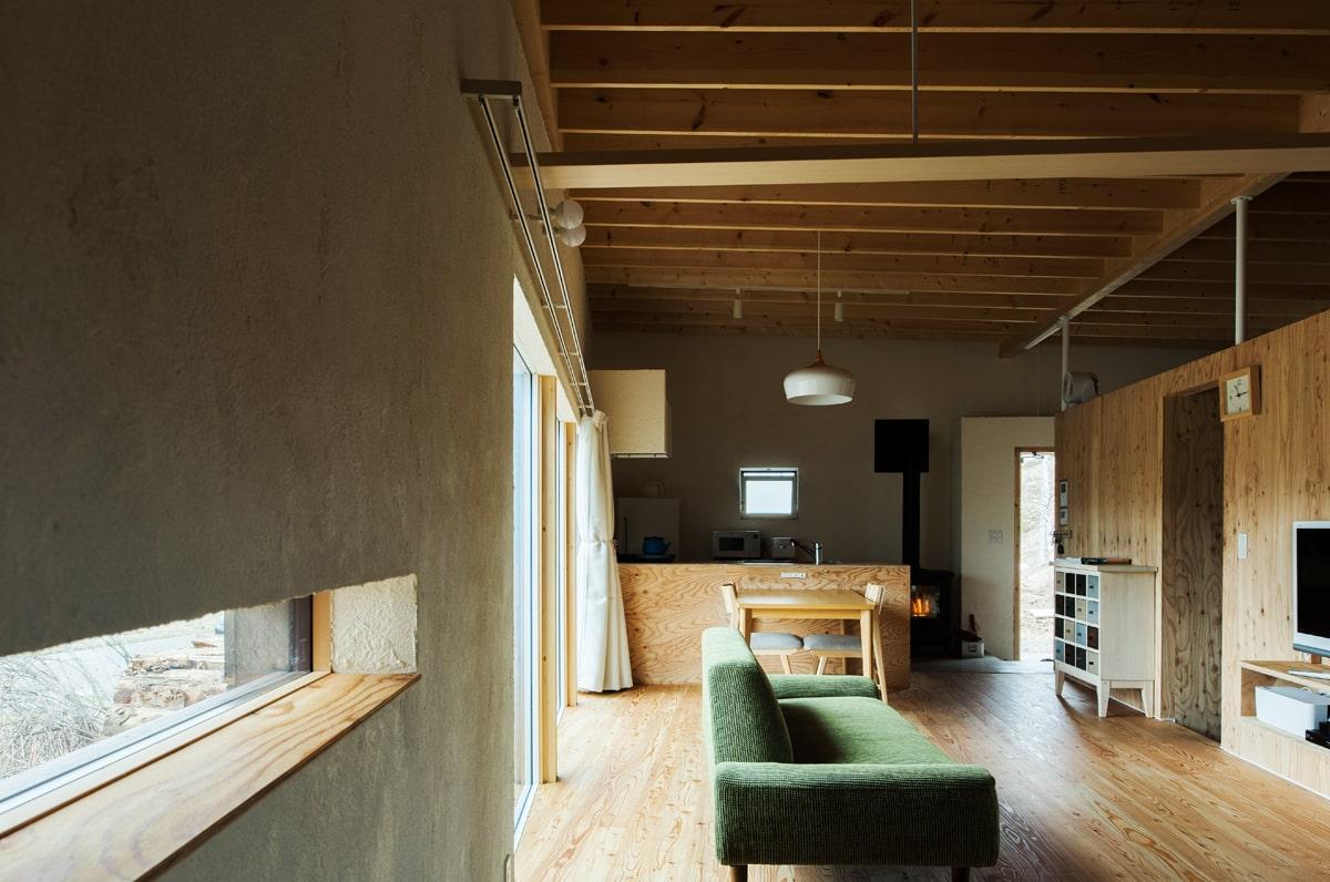 シンプルな暮らしぶりから生まれた、ムダを省いた空間デザイン