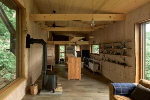 薪ストーブと暮らす。小屋的住宅5実例