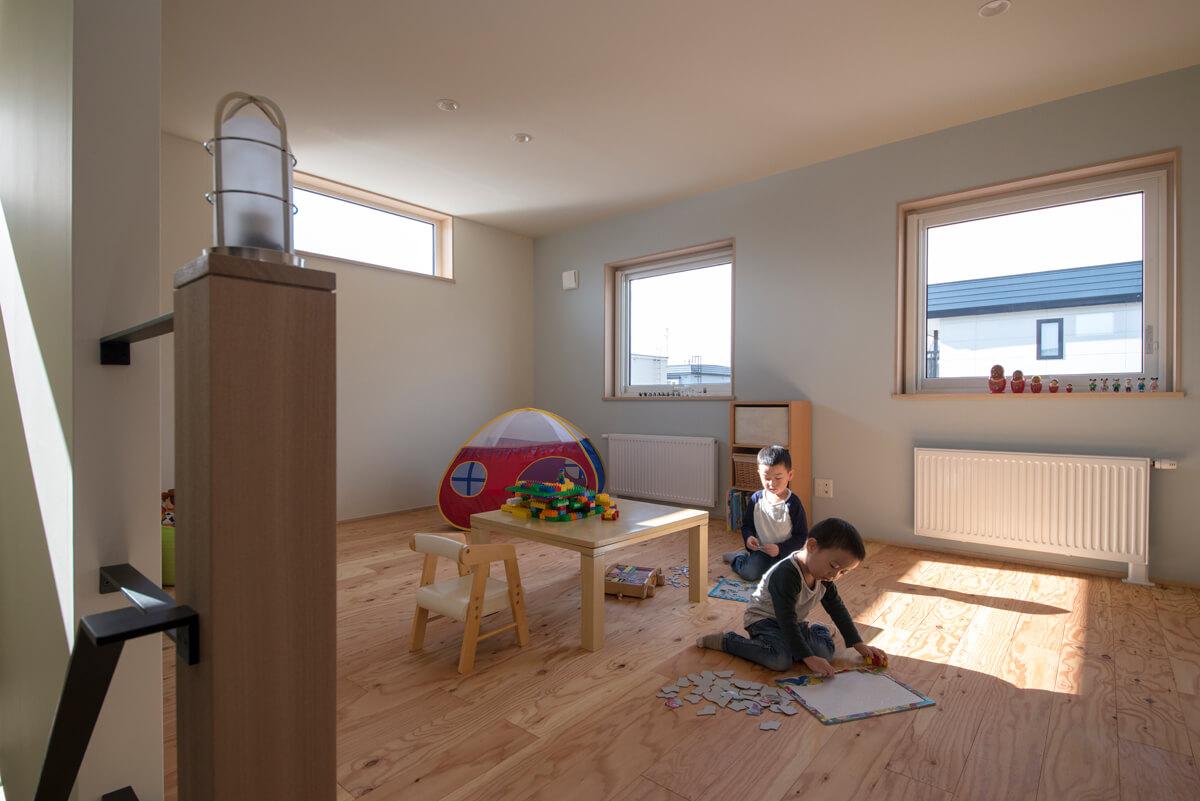2Fホールが、イコール子ども室