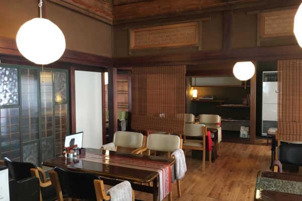新十津川町の石窯カフェ