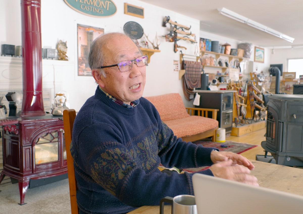 サカシタペチカの代表、坂下雅俊さん