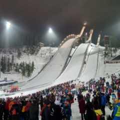 初めてのスキージャンプ大会観戦 in フィンランド