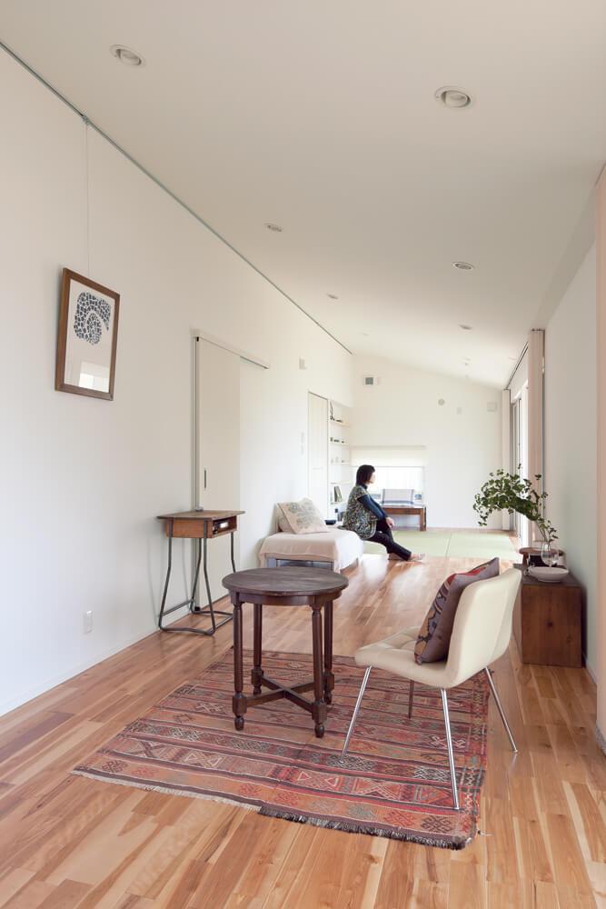 手入れがしやすくシンプル。25坪の小さな家