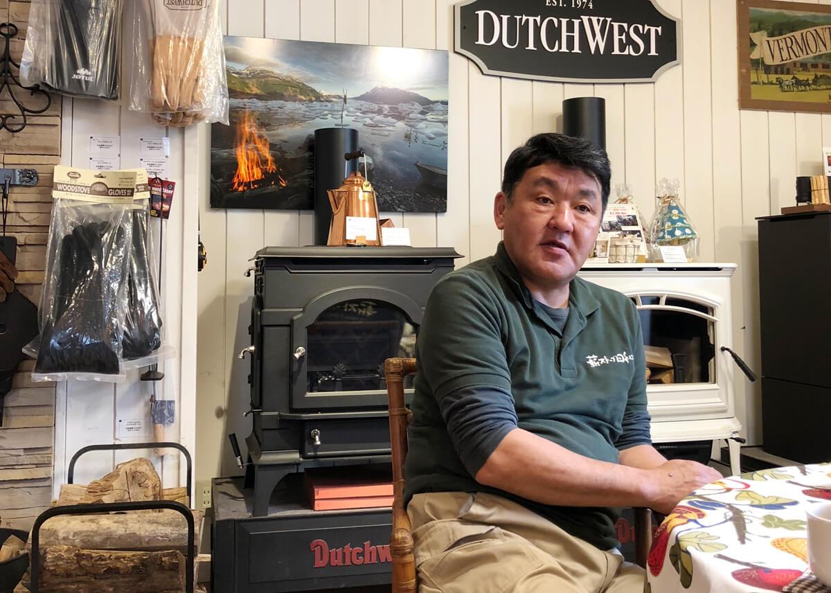 北海道リンクアップの代表、唐牛宏さん