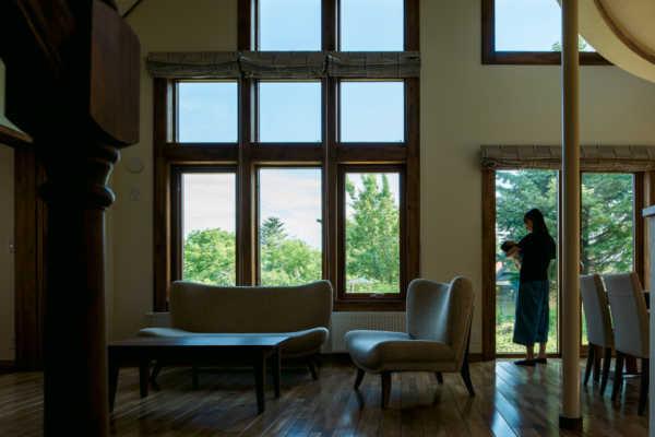暮らし方からプランを考えた 眺めのよい子育ての家
