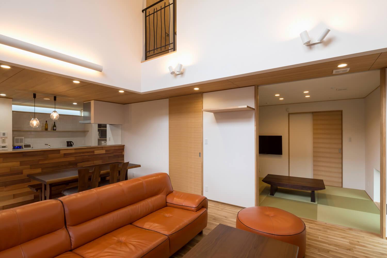 設備が見えないダクト式全館暖房システムは、空間デザインを邪魔しないのもメリット