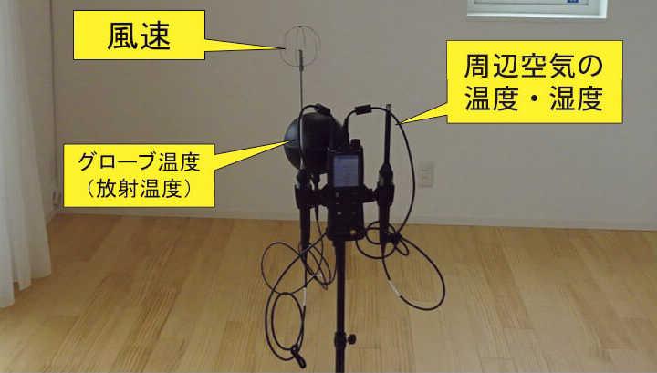 図3 PMV計で快適性を計測せよ!