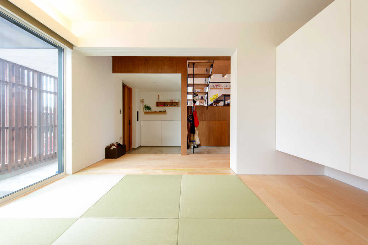 客間としても利用可能な和室