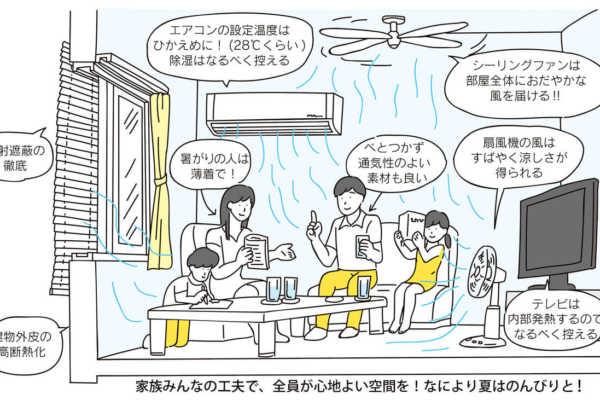 vol.015/夏を涼しく暮らすコツを考えよう