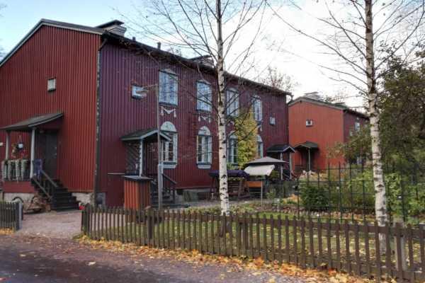 100年前の木造住宅が残るフィンランドの街、キャプラ(Käpylä)