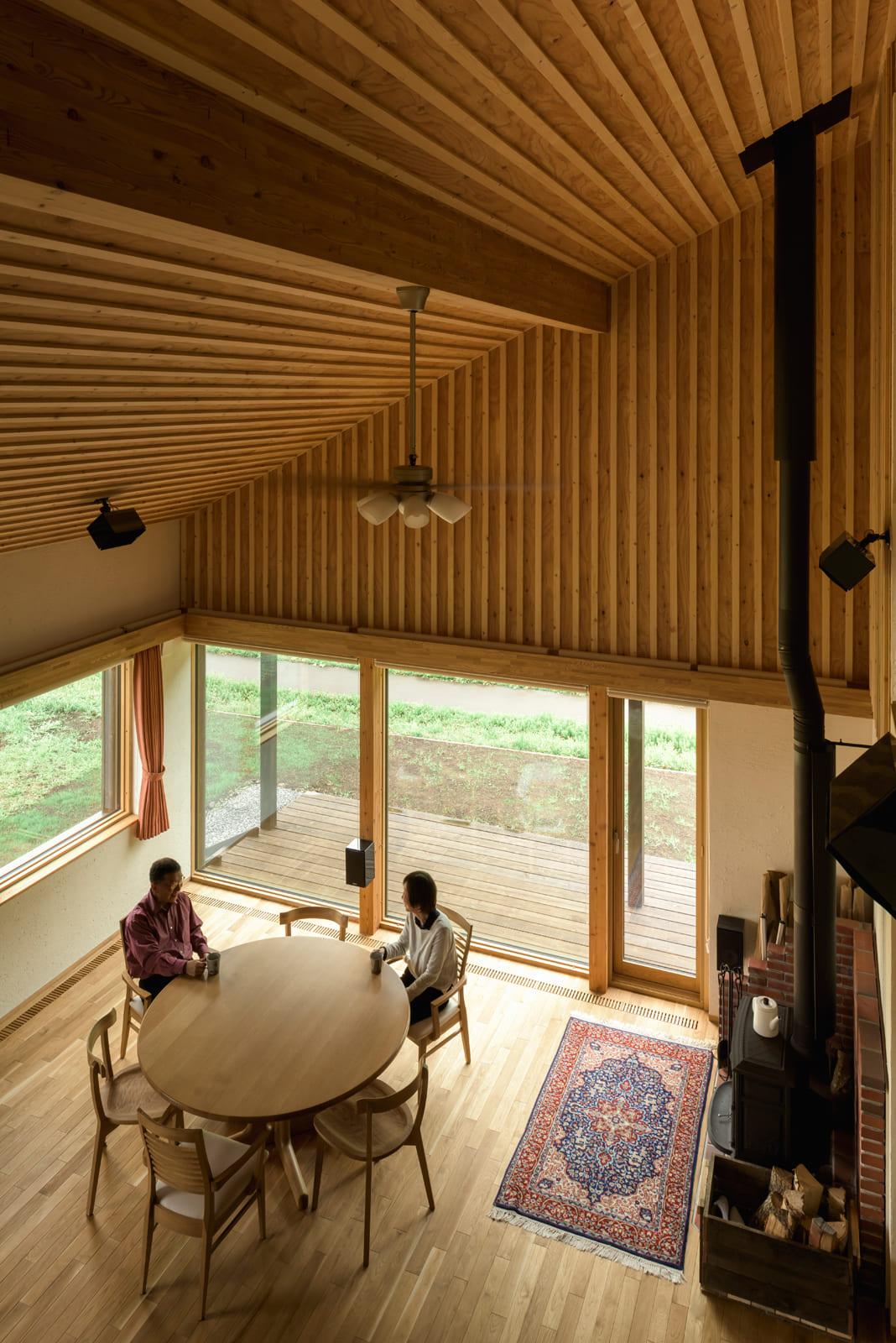念願の音響環境が叶った新居での穏やかなひととき