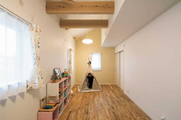 高い住宅性能にこだわり、一年中快適が続く子どもがのびのび育つ家