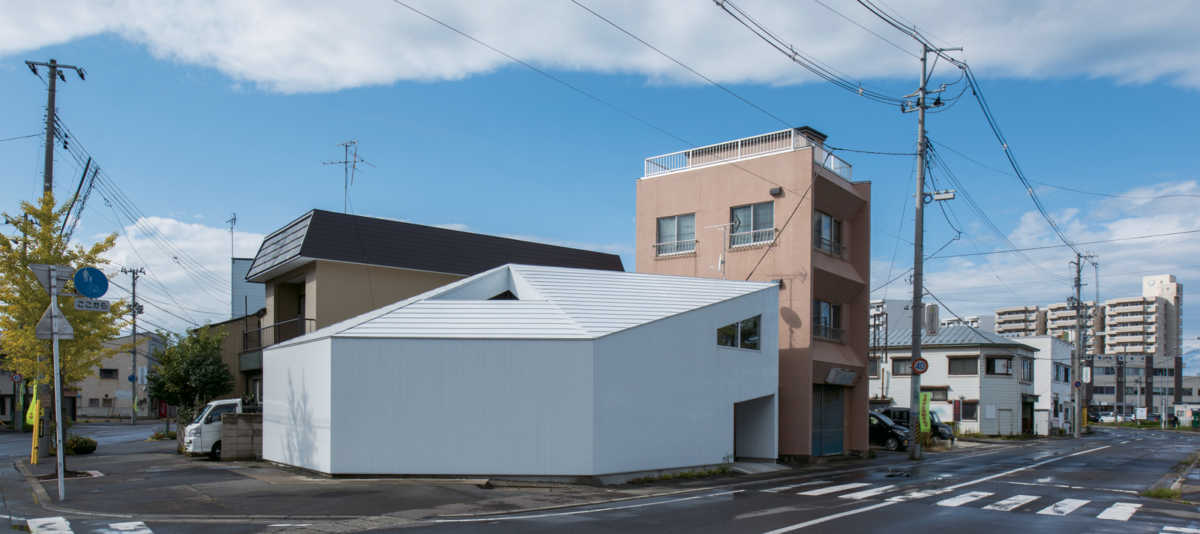 狭小地に、多角形の土地…変形地に建てた住宅実例4