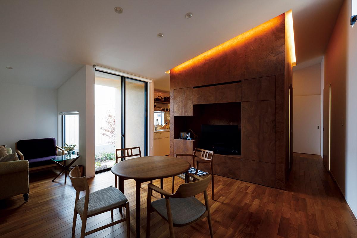 組み込み方次第で、空間によりインパクトのあるデザイン性を持たせることもできる