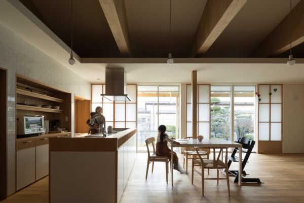 和モダンと北欧テイストの融合。建物を生かす平屋リノベーション